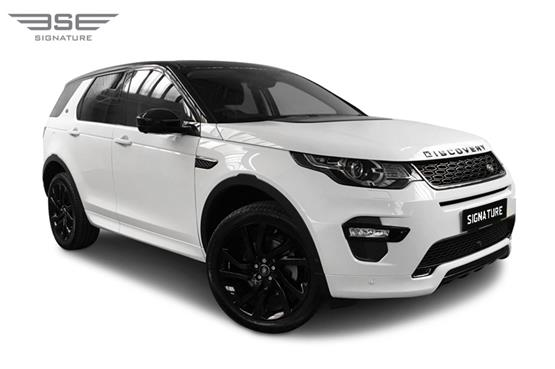 Land Rover Discovery Sport Right Front View