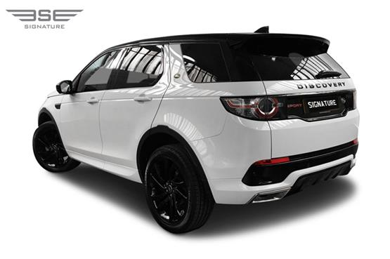 Land Rover Discovery Sport Left Rear View