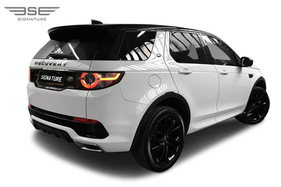 Land Rover Discovery Sport Right Rear View