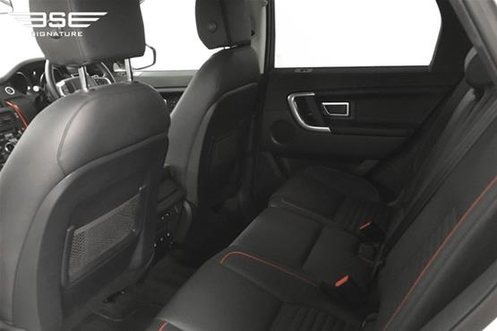 Land Rover Discovery Sport Rear Seats
