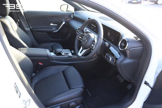 Mercedes A180 Sport Executive Driver Seat View