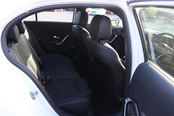 Mercedes A180 Sport Rear Seats