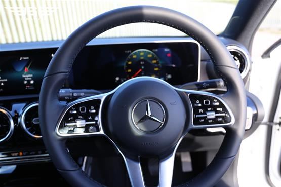 Mercedes A180 Sport Steering Wheel