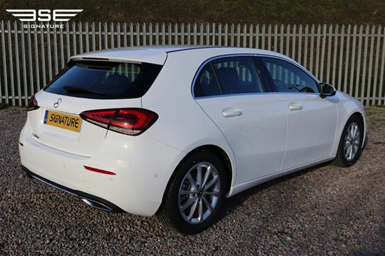 Mercedes A180 Sport Right Rear View