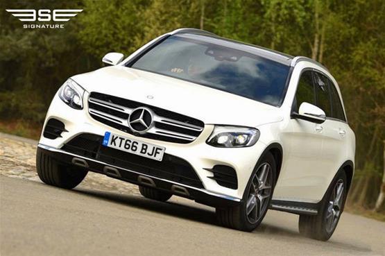 mercedes-GLC-220D-AMG-line-premium-plus-on-the-road