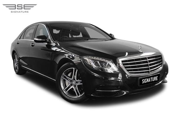 Mercedes S350 LWB Right Front View