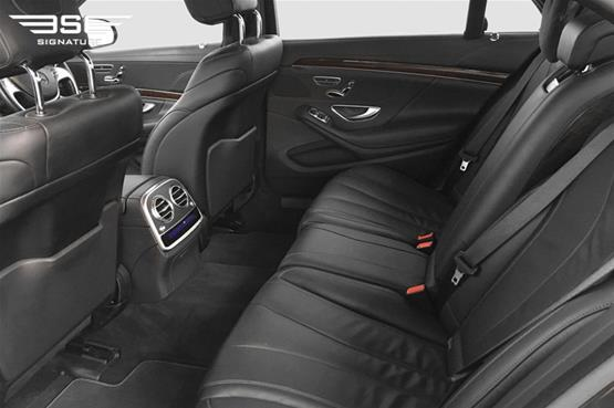 Mercedes S350 LWB Rear Seats