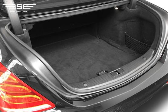 Mercedes S350 LWB Boot Space