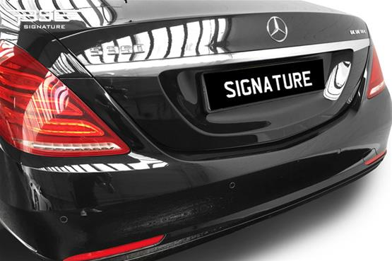 Mercedes S350 LWB Rear Bumper