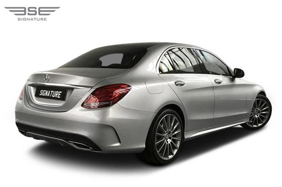 Mercedes C Class Right Rear View