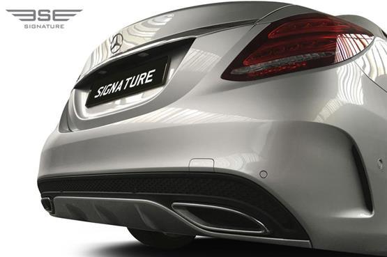 Mercedes C Class Rear Bumper