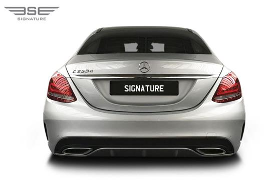 Mercedes C Class Rear View