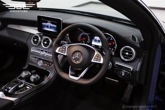 Mercedes C Class Cabriolet Front Interior