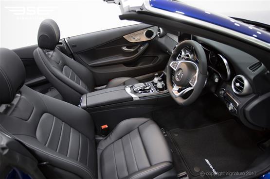 Mercedes C Class Cabriolet Front Seats