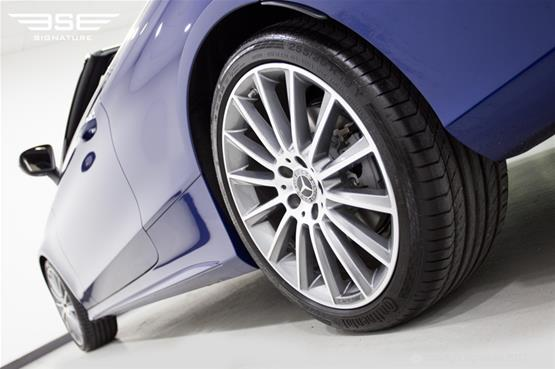 Mercedes C Class Cabriolet Rear Alloy Low VIew