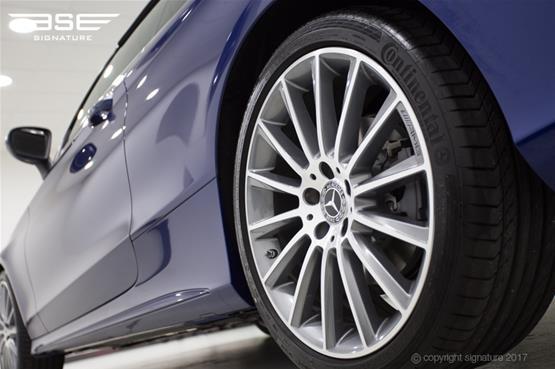 Mercedes C Class Cabriolet Rear Alloy