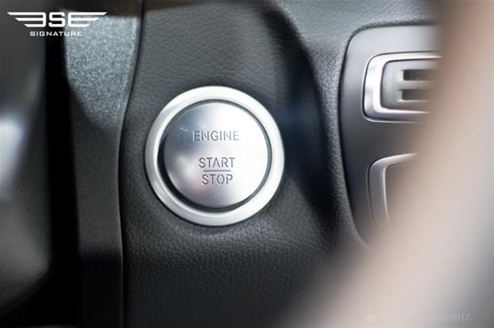 Mercedes C Class Cabriolet Start Button