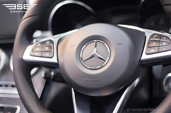 Mercedes C Class Cabriolet Steering Wheel