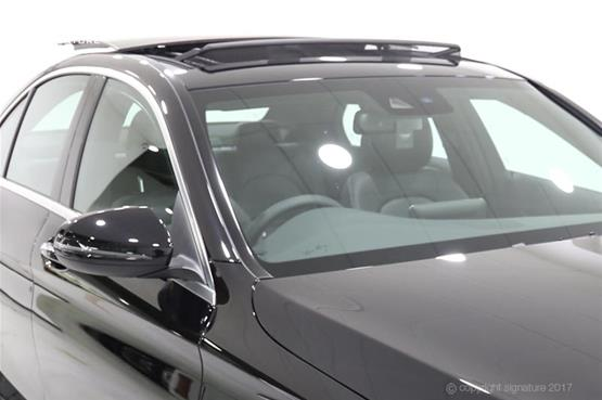 mercedes-c300h-amg-line-open-sunroof