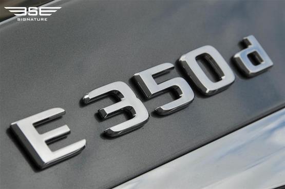 mercedes-e-350d-badge