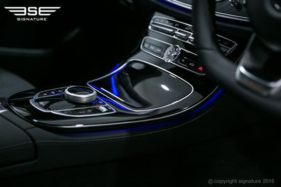 mercedes-e220d-amg-line-controls