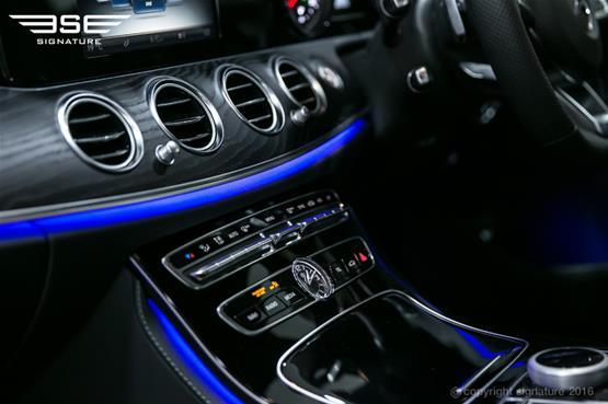 mercedes-e220d-amg-line-dash-controls