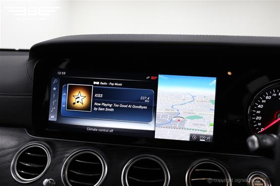 mercedes-e350d-amg-line-radio