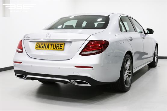 mercedes-e350d-amg-line-rear-side