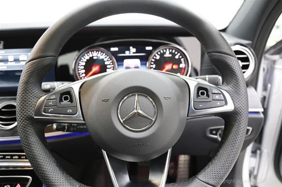 mercedes-e350d-amg-line-steering-wheel