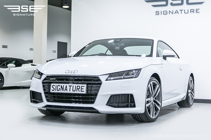 audi tt coupe s line quattro hire dynamic self drive car for rental. Black Bedroom Furniture Sets. Home Design Ideas