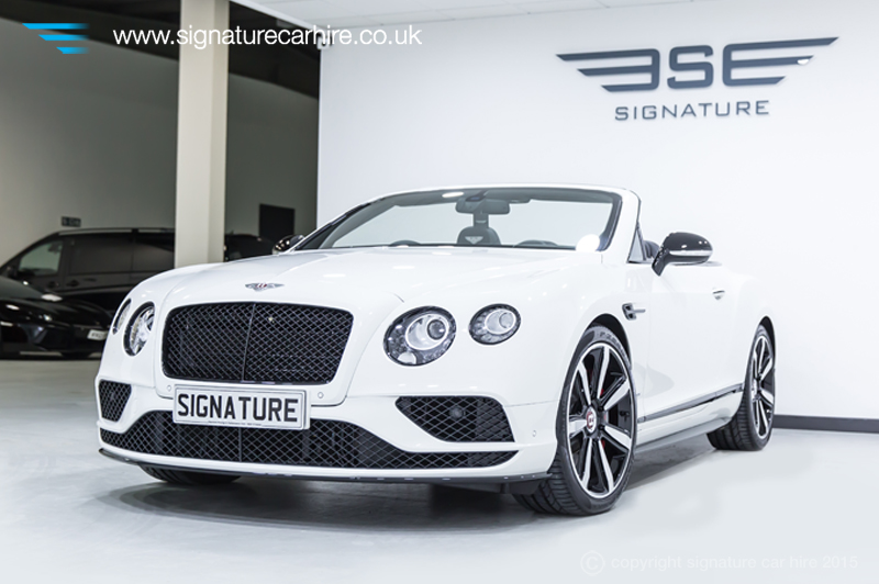 Stylish Bentley Gtc V8 S For Refined Car Hire Experience