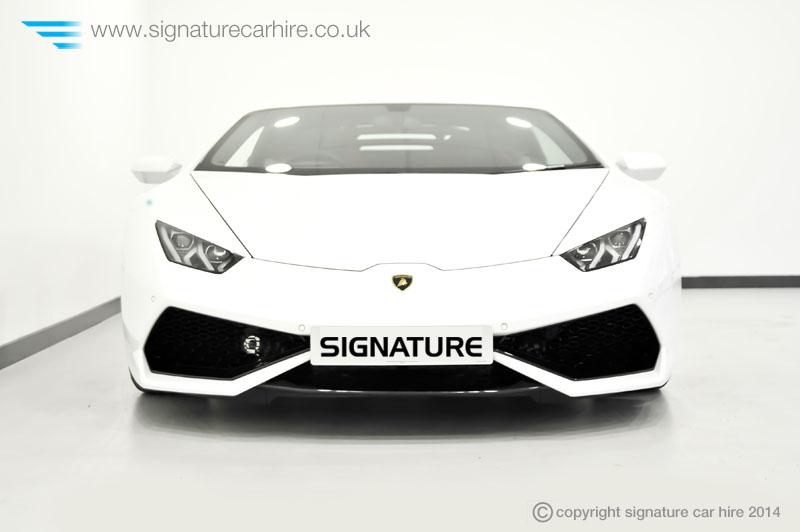 Lamborghini Huracan LP 610 4 Front View