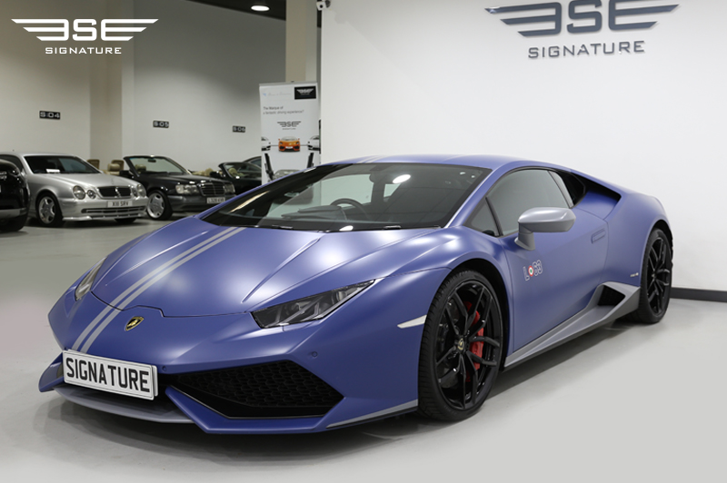 Hire Lamborghini Huracan Avio Signature Car Hire