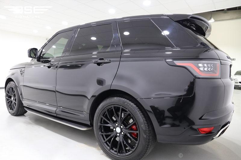Hire Range Rover Sport Svr In London A Grandiose