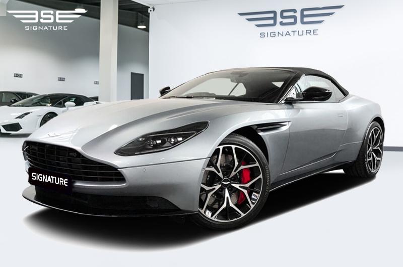 Aston Martin Db11 Volante Hire London Drop Top Grand Tourer