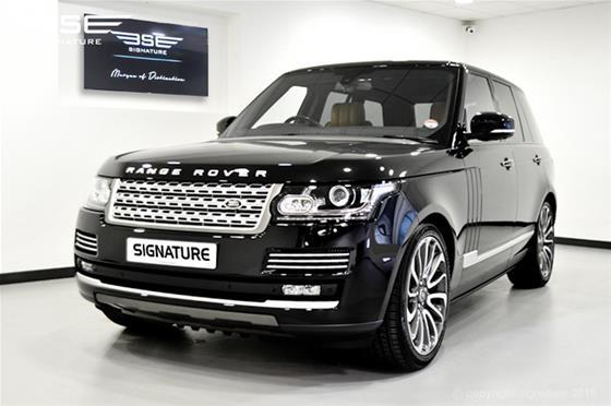 All New Range Rover Vogue Autobiography 4.4L SDV8