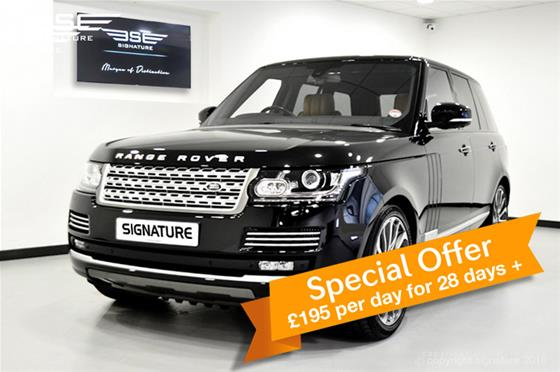 All New Range Rover Vogue Autobiography 4.4L SDV8