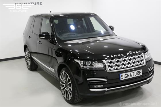hire range rover suv for luxury in london signature car hire. Black Bedroom Furniture Sets. Home Design Ideas