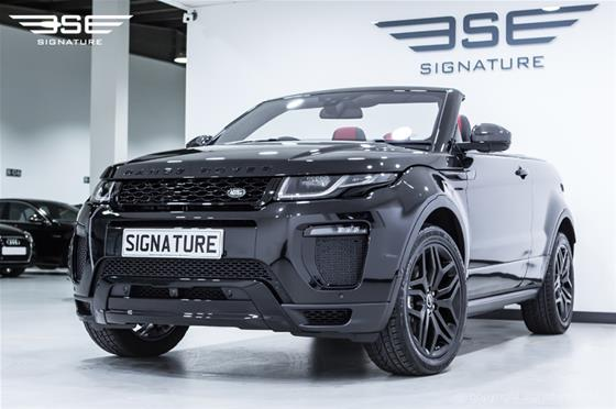 Range Rover Evoque Convertible HSE Dynamic LUX Black