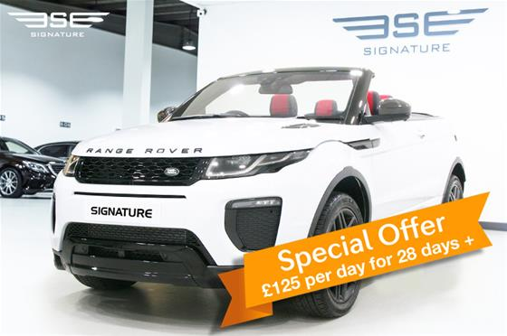 Range Rover Evoque Convertible HSE Dynamic LUX