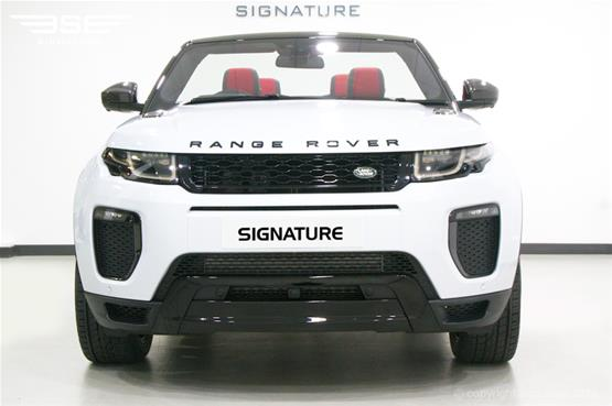 Range Rover Evoque Convertible HSE Dynamic LUX Front View