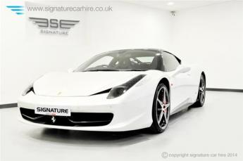 Ferrari 458 Italia Coupe Front Side View