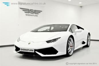 Lamborghini Huracan LP 610-4 Front Side View