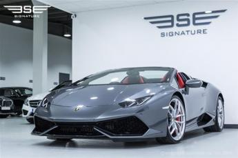 Lamborghini Huracan Spyder Front and Side View