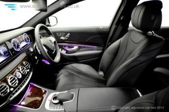Mercedes New S Class S350 BlueTEC L interior