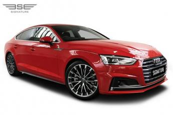 Audi A5 Sportback Right Front View