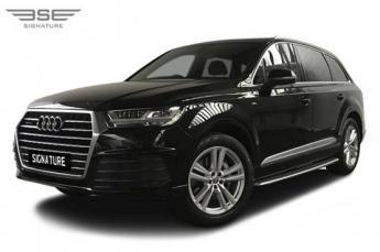 Audi Q7 Left Front View